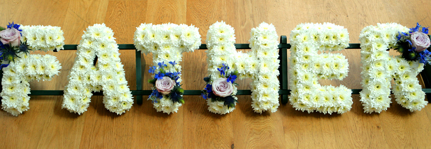 Funeral Flowers Father Wreath Flowerandballooncompany Com