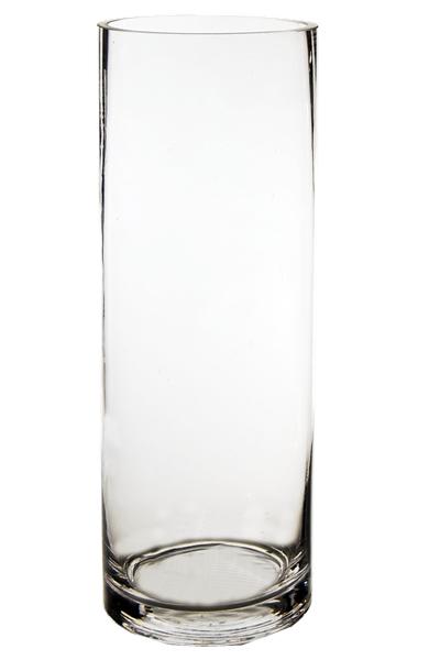Clear Cylinder Flower Vase Flowerandballooncompanycom