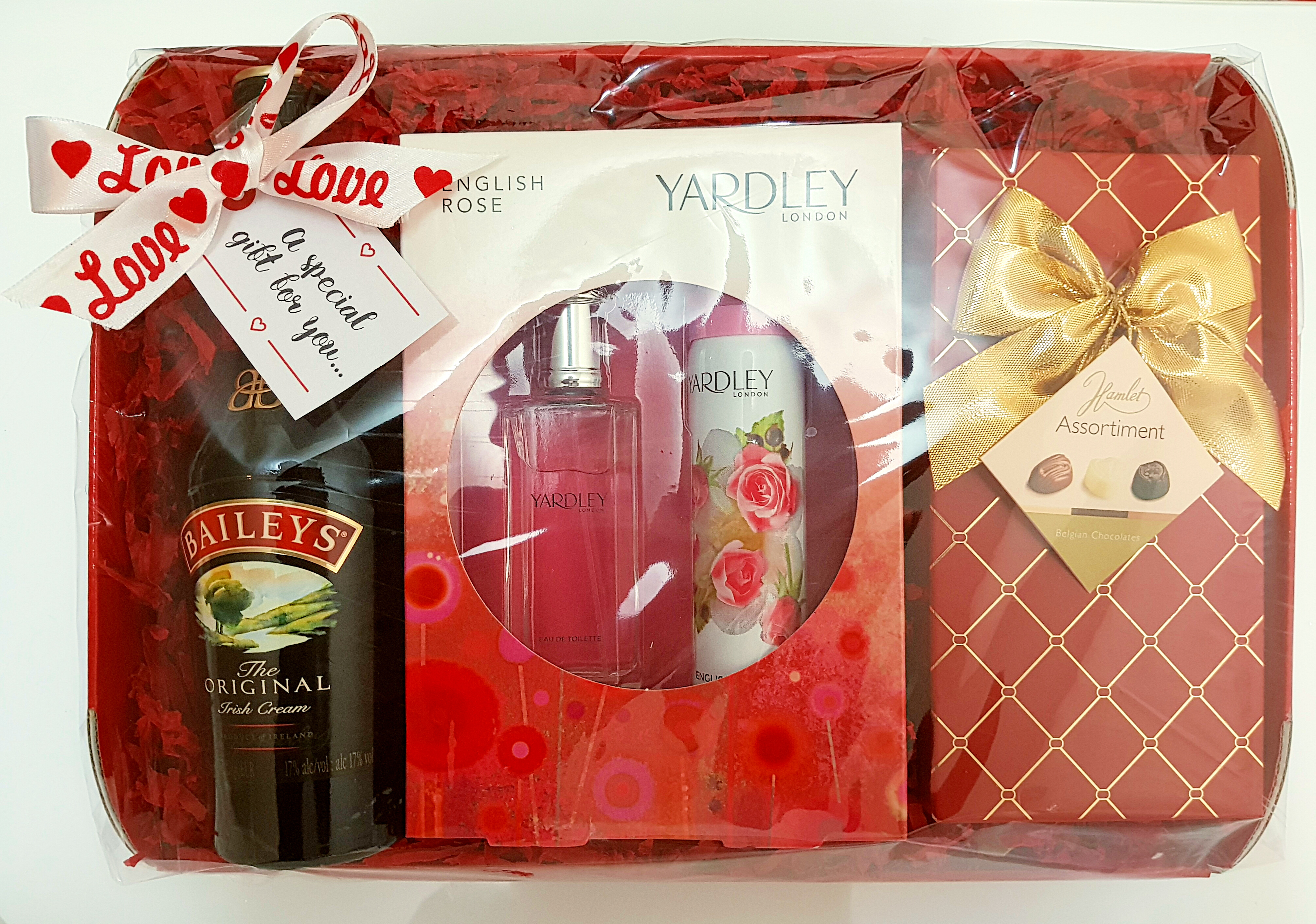 Yardleys Baileys Chocolate Gift Pack