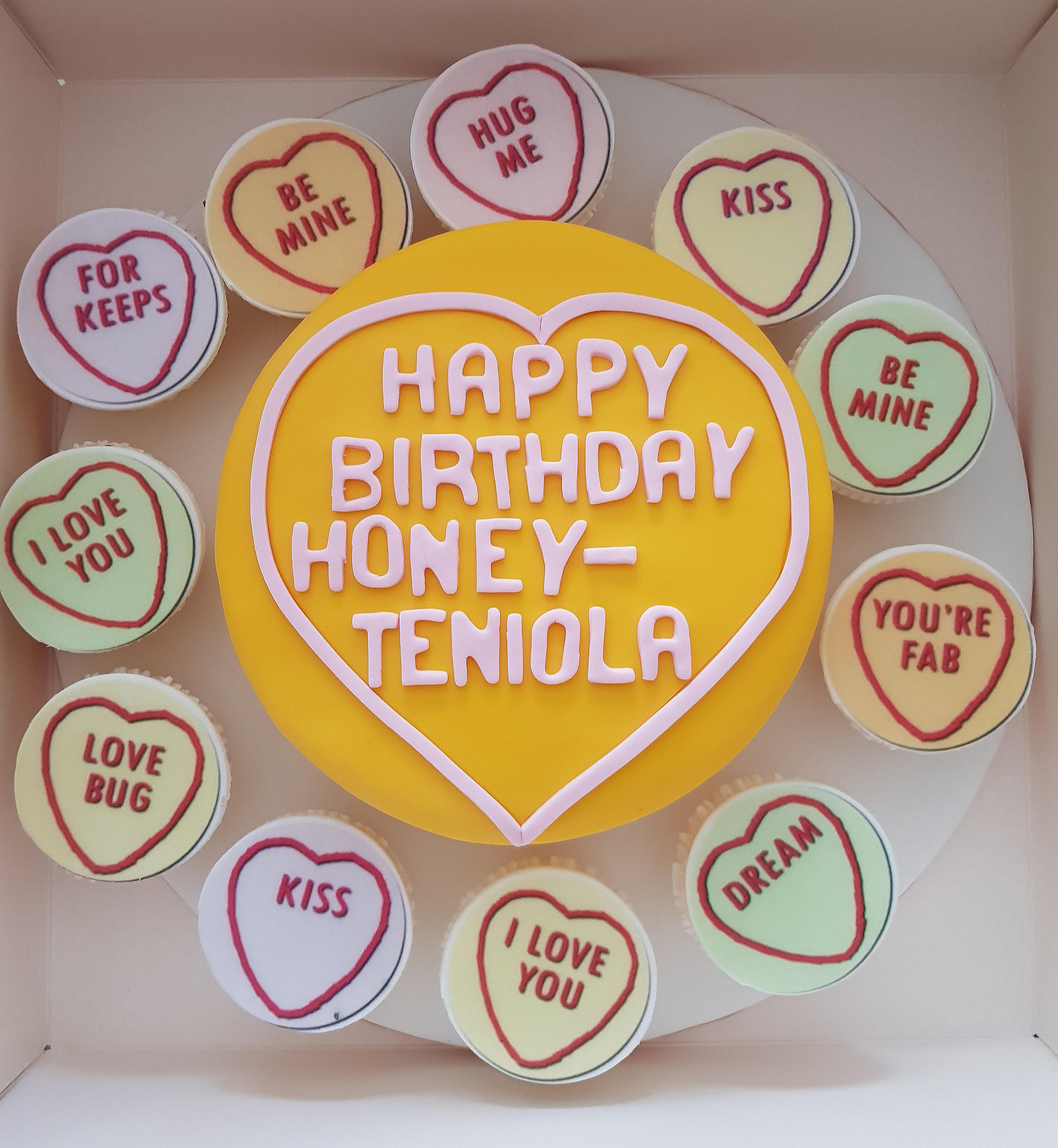 Outstanding Love All Around Cake Flowerandballooncompany Com Funny Birthday Cards Online Barepcheapnameinfo
