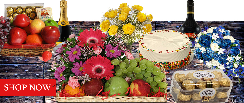 Buy Online Flower Bouquet Balloons Gifts Fruit Hampers More
